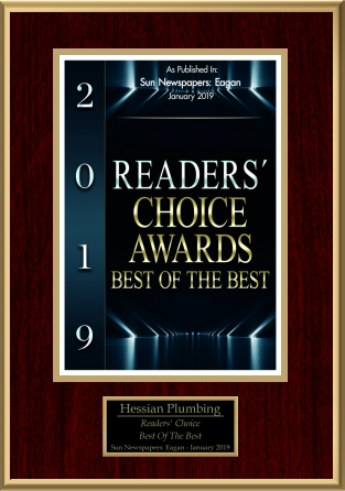 Hessian Plumbing Readers' Choice Award